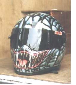 Bell Racing Helmets >> Simpson racing helmen
